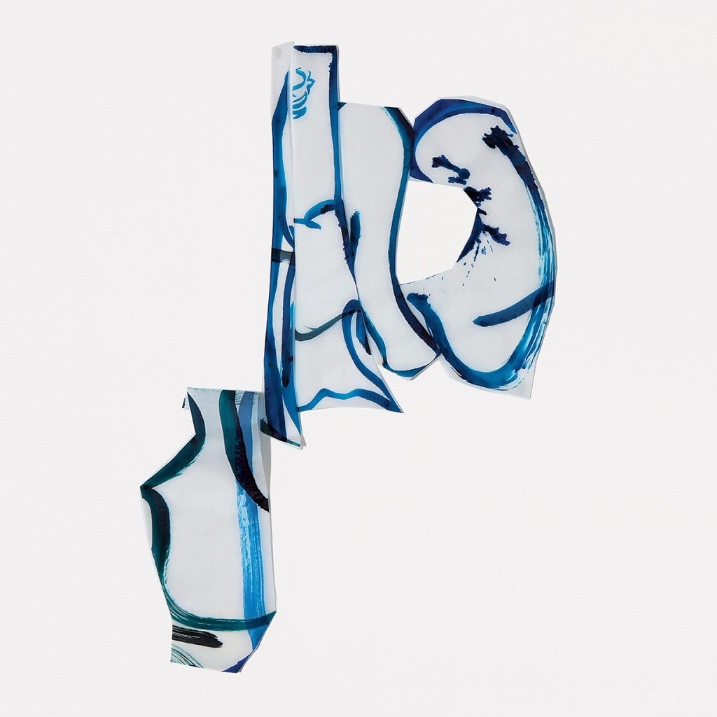 <i>Carasu</i>, encre sur calque, 83x70cm, 2010