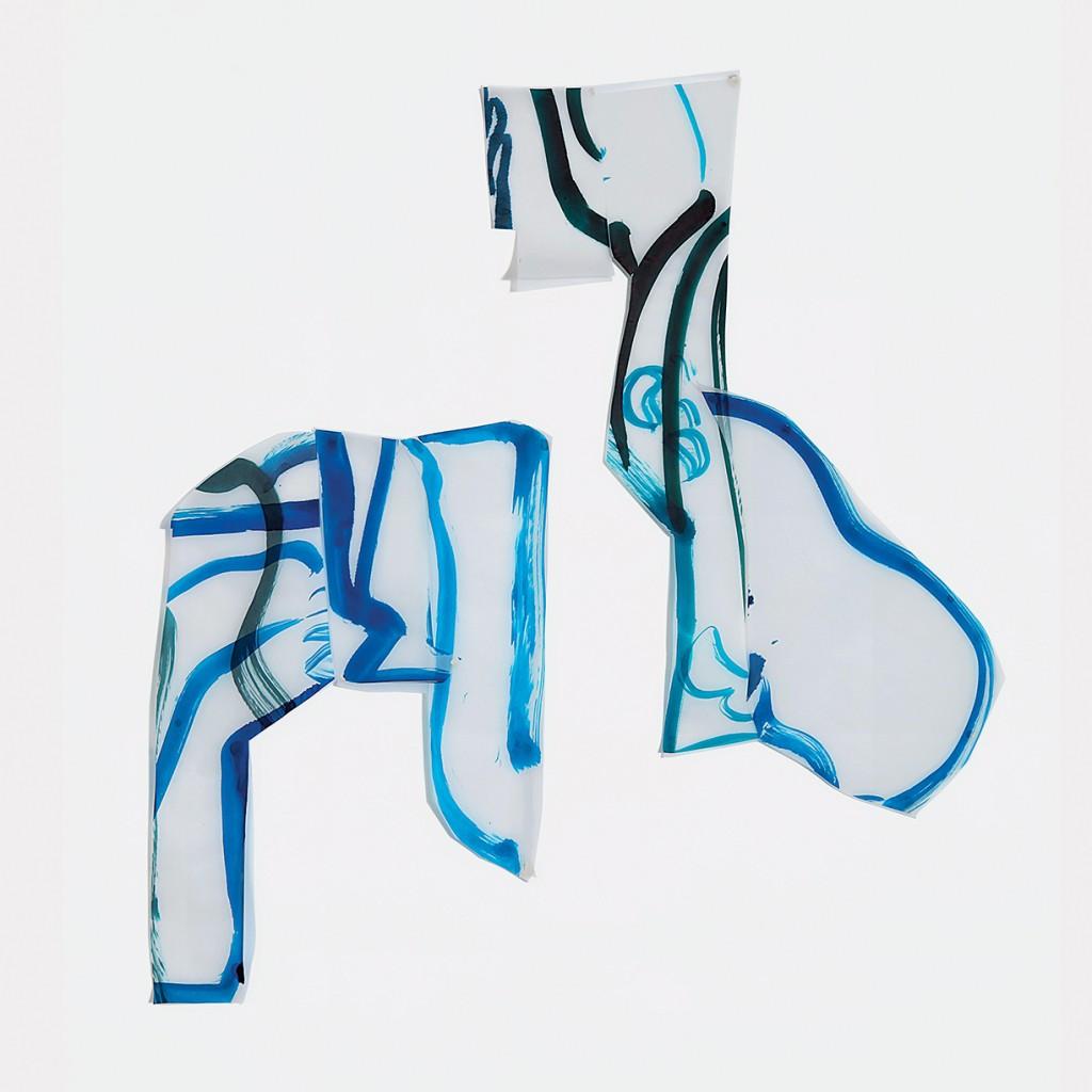 <i>Duo Nuku</i>, encre sur calque, 80x86cm, 2010
