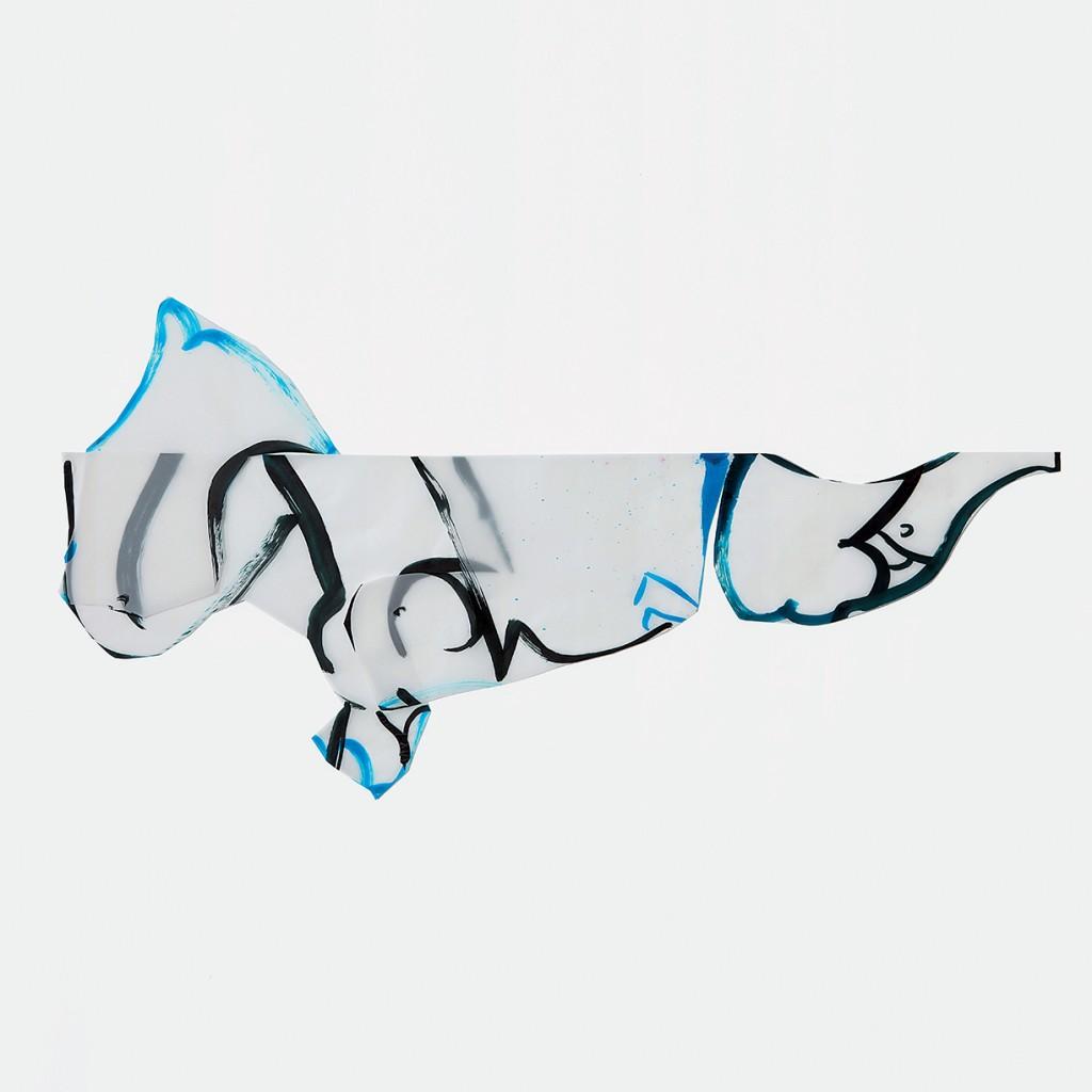 <i>Alofi</i>, encre sur calque, 75x170cm, 2010
