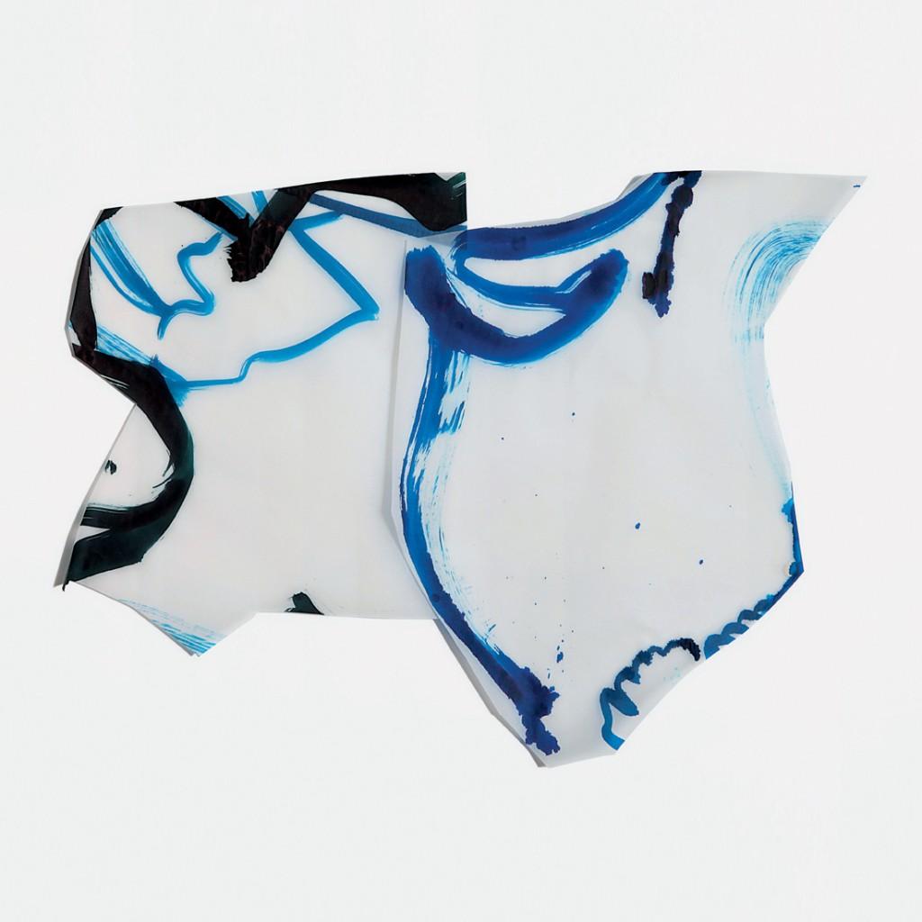 <i>Duo Ono</i>, encre sur calque, 45x60cm, 2010