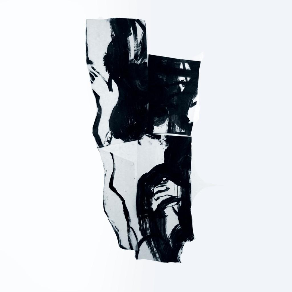 <i>Agon 12</i>, acrylique sur polyester, 138x62cm, 2012