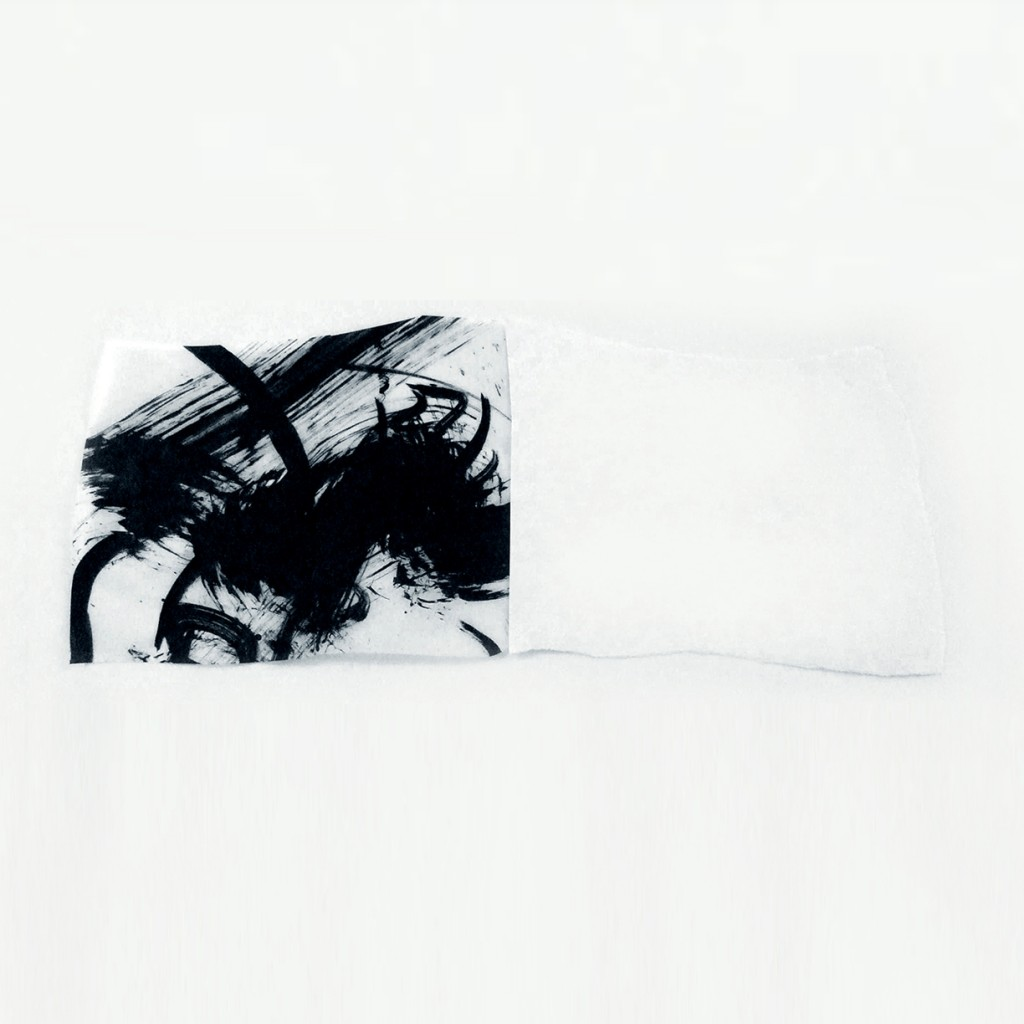 <i>Livre</i>, papier et encre sur calque, 23x61cm, 2011