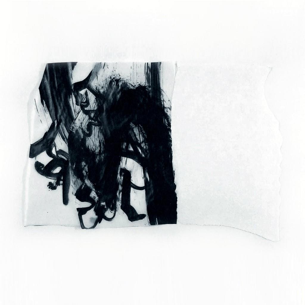 <i>Position</i>, papier et encre sur calque, 33x50cm,  2011