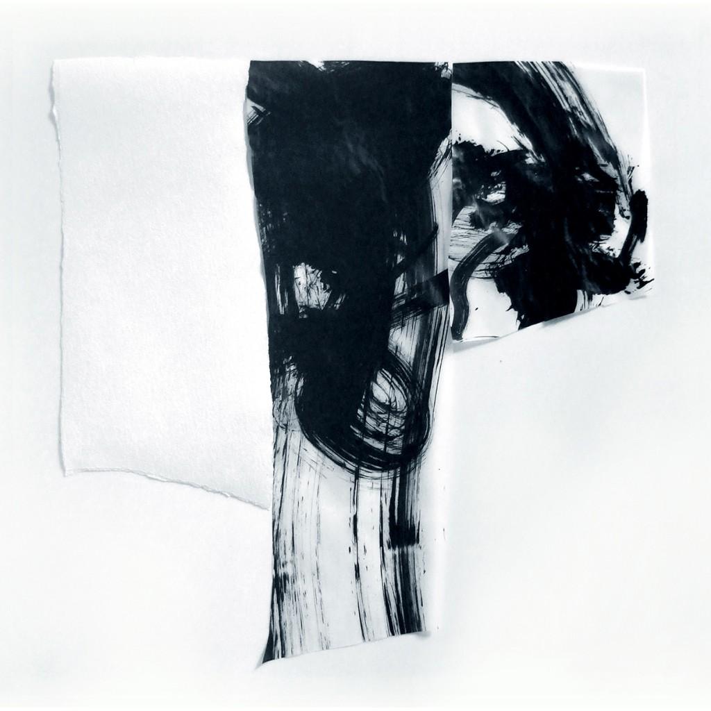 <i>Tau</i>, papier et encre sur calque, 51x52cm, 2011