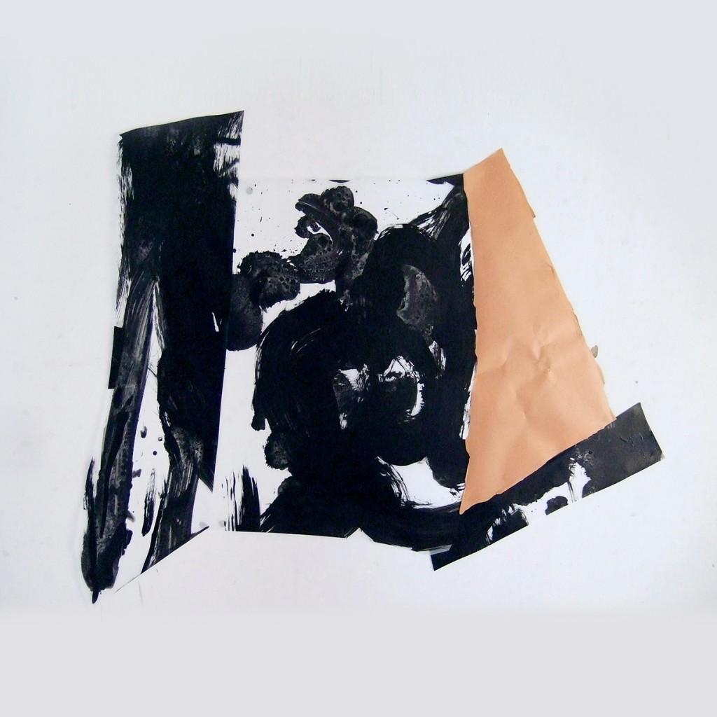 <i>Tellur</i>, acrylique  sur polyester, 87x111cm, 2012