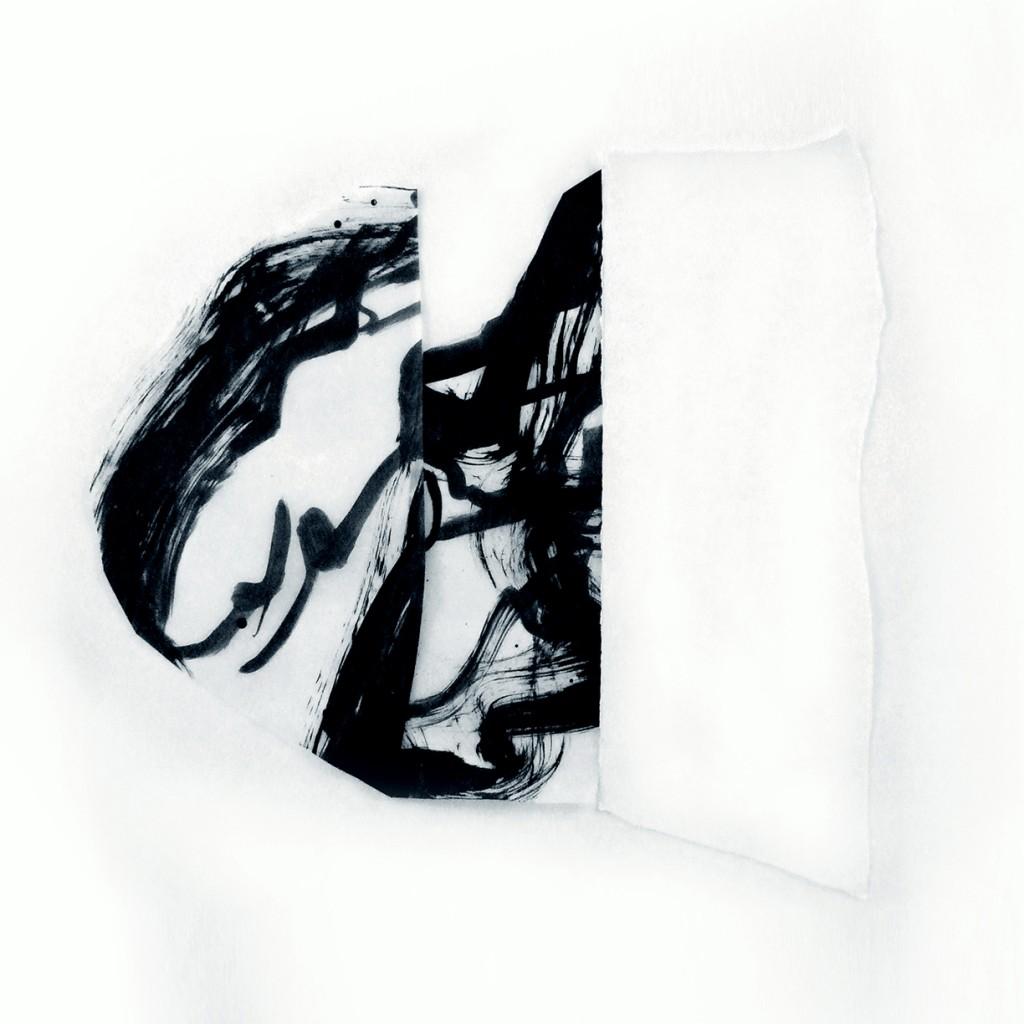 <i>Villa</i>, papier et encre sur calque, 57x60cm, 2011
