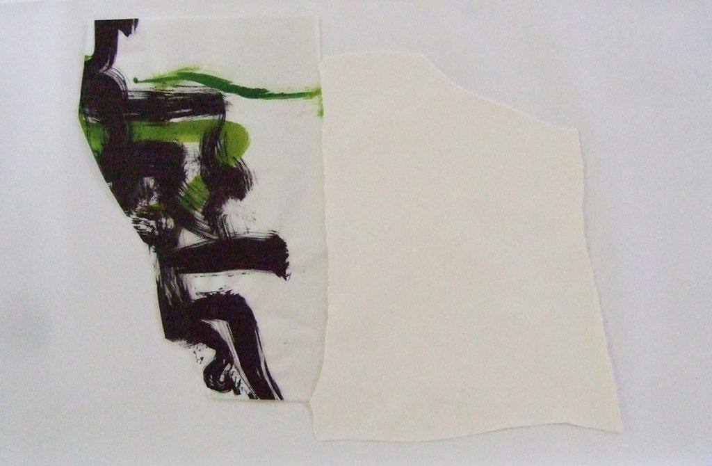 <i>Aube</i>, papier et encre sur calque, 67x85cm, 2011