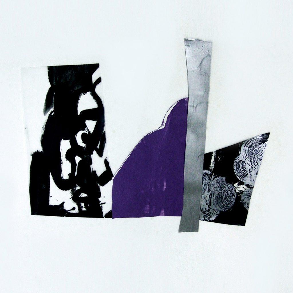 <i>Rhapsodie</i>, acrylique sur polyester et papier, 54x67cm, 2012